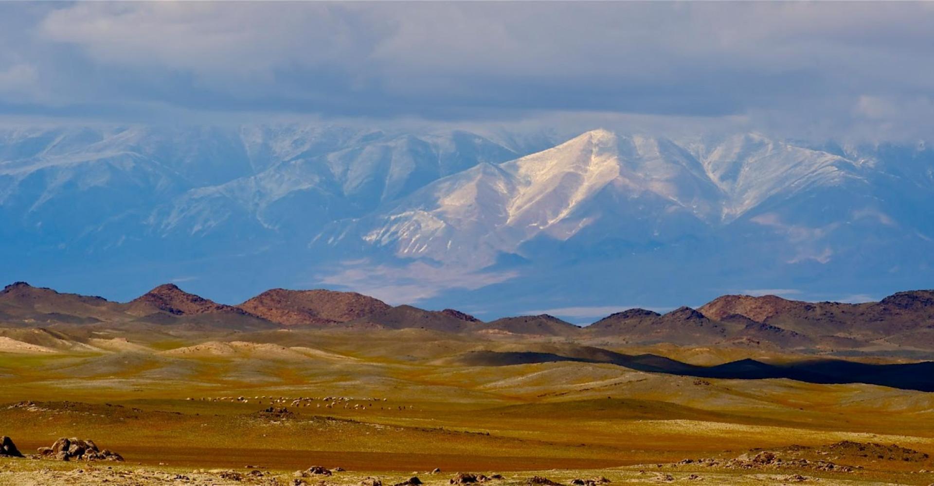Great bogd mountain