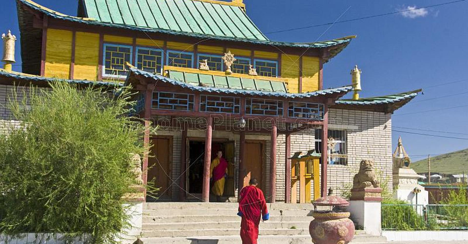 Gandan Muntsaglan Monastery