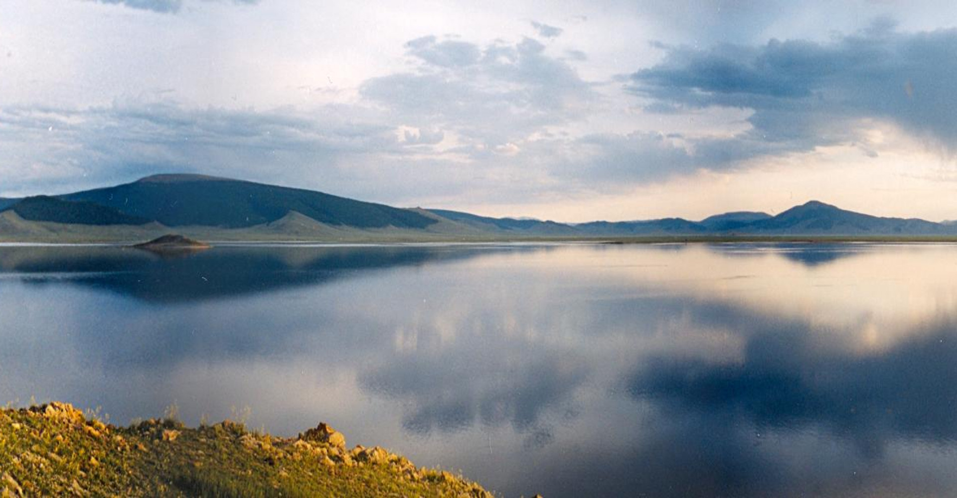 Terkh Tsagaan Lake