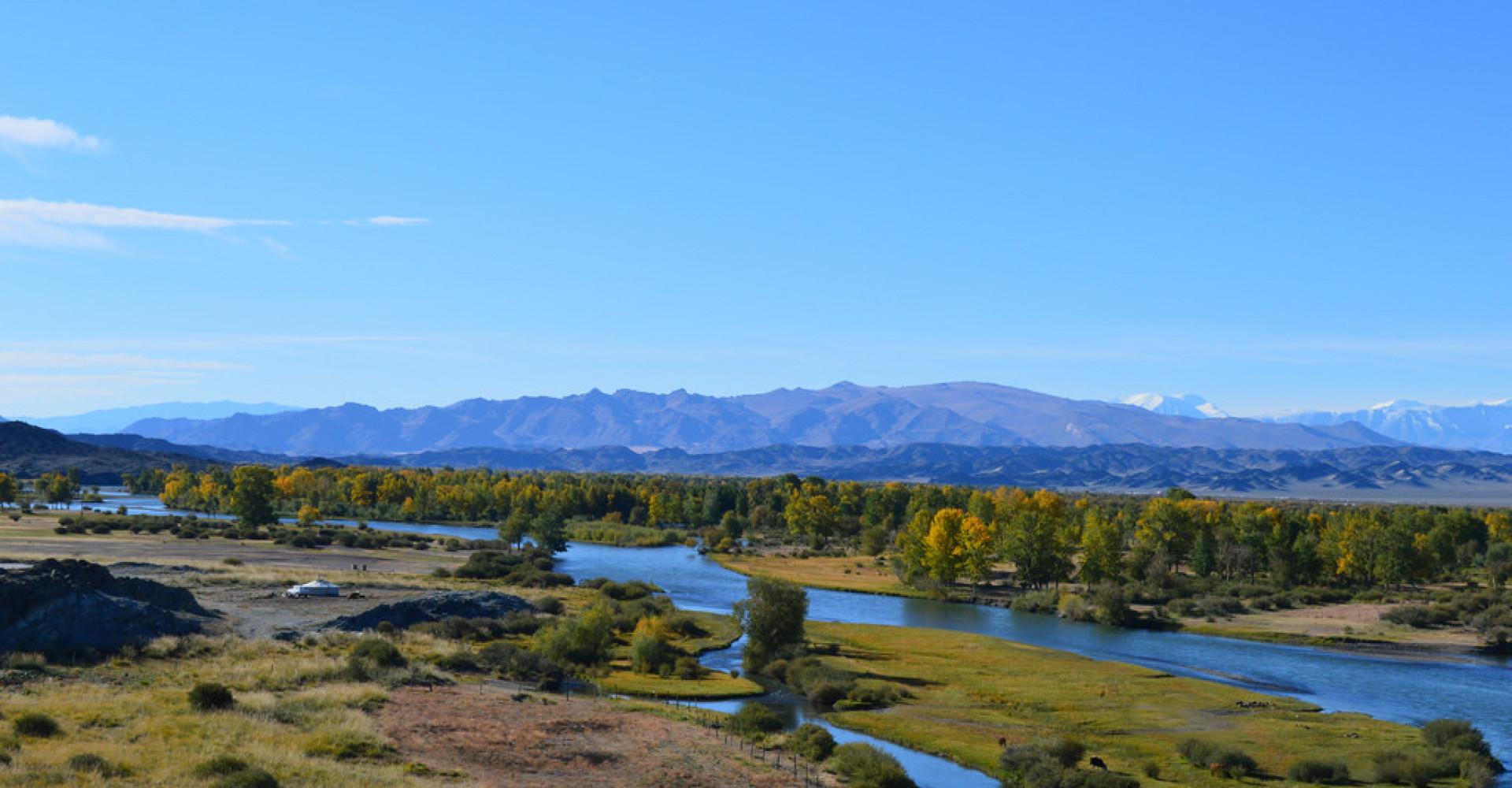 Khovd river